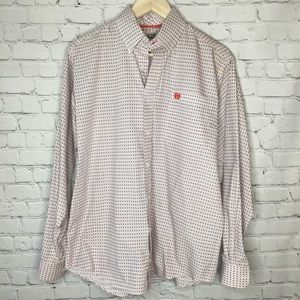 CINCH LONG SLEEVE BUTTON DOWN SIZE XSMALL